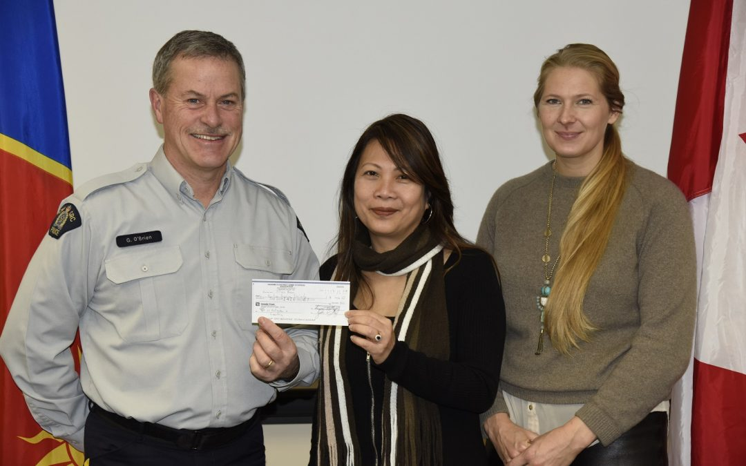 Nanaimo RCMP Victim Services program benefits from efforts of local crime stoppers program